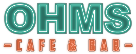 OHMS Cafe & Bar Logo
